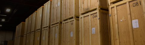 Temporary or long-term storage services