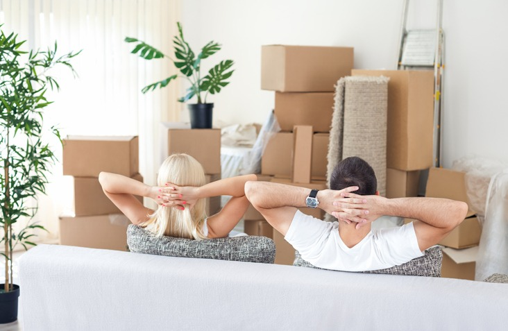 new home unpacking tips