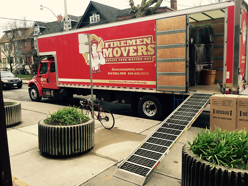 Firemen Movers Toronto Movers Moving Amp Storage Services